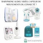 Quel babyphone choisir : un écoute bébé audio, vidéo, à capteur de mouvements ou connecté ?