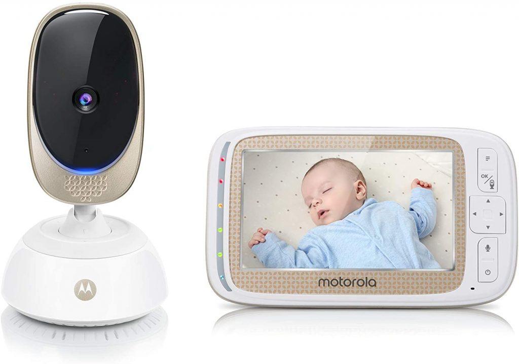 L'écoute bébé Motorola Comfort 85 Connect dispose d'un écran 5 pouces.