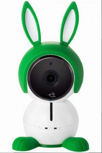 Le babyphone connecté Arlo Baby possède un design unique.